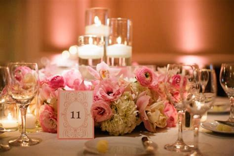 wedding centerpieces floating candles floral wreath wedding centerpieces with floating candles 5 ideas
