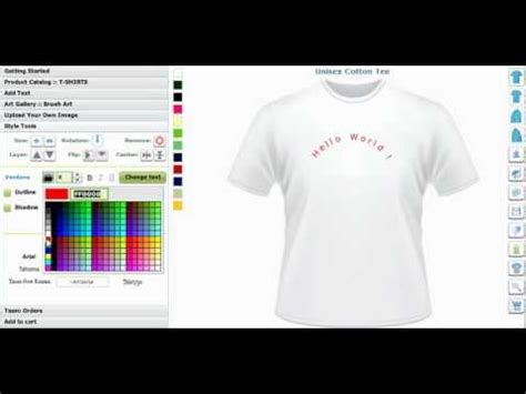 t shirt design maker youtube shirt design software design shirt software tshirt