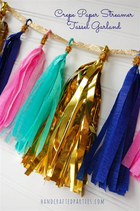 How To Make Tissue Paper Streamers - 12 festive ways to decorate with streamers pretty