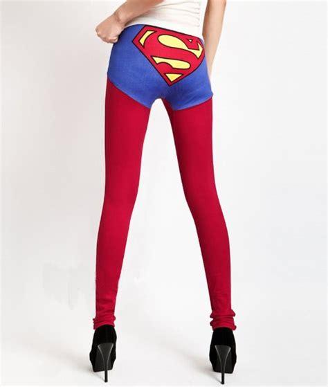 Jual Lets Slim Fit Legging superman print cotton china