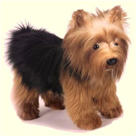 yorkie stuff hansa small terrier stuffed animal