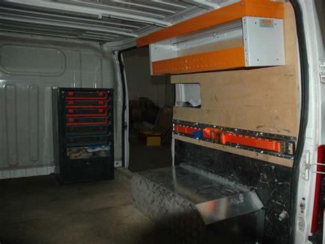 scaffali per furgoni fai da te allestimenti per furgoni fiat ducato 2002 by order system