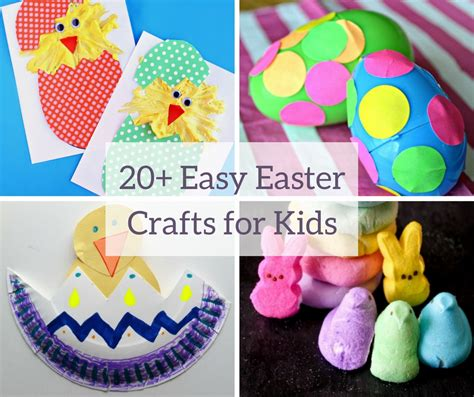 how to make crafts 20 easy easter crafts for