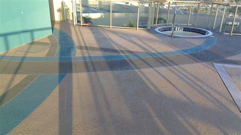 cool deck rooftop pool  sledge concrete coatings