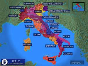 Where Is In Italy Map Of Italy The Zin Llc