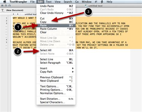 format html with textwrangler how to clean up messy text with textwrangler