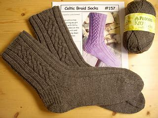 scottish braids of color on socks ravelry celtic braid socks 157 pattern by lynda gemmell