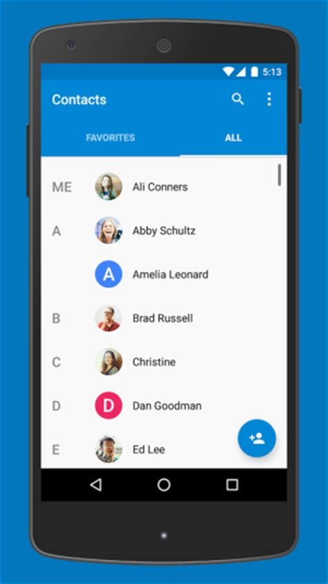 Where Android Store Contacts by Finally Brings Its Phone And Contacts Apps To The
