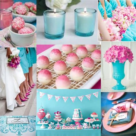 Turquoise And Pink Wedding Decorations by Colors Turquoise Pink And Thinking Of A Flowers And