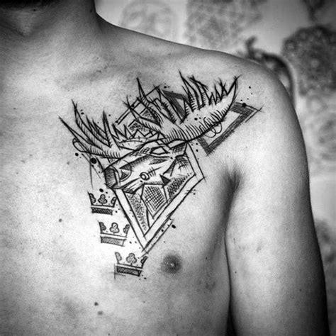 elk antler tattoo designs 60 moose designs for antler ink ideas