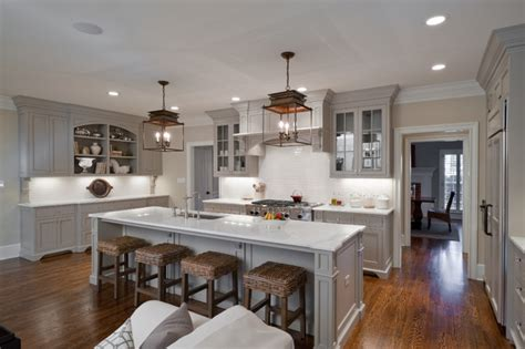 glossy cafe au lait upper cabinets in small space kitchen gray kitchen cabinets transitional kitchen valspar