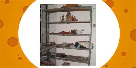 Rak Besi 4 Tingkat rak besi 5 tingkat terjual gerai bekas