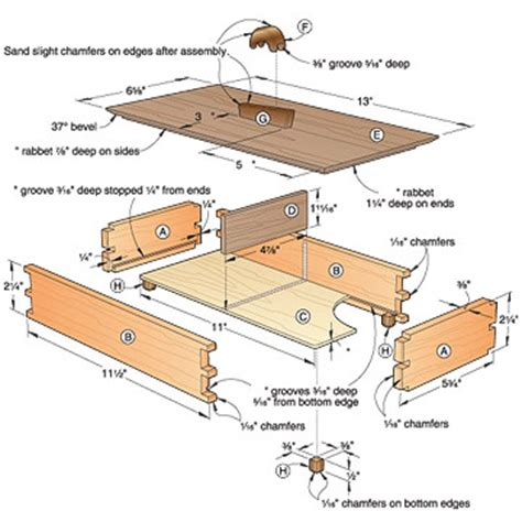 free woodworking plans box woodwork woodworking plans wood storage box plans pdf