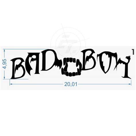 Bad Aufkleber by Sticker Quot Bad Boy Bad Quot