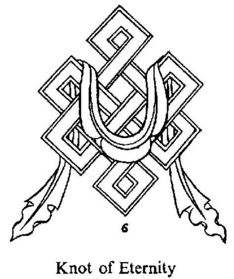 symbol for karma tattoo designs the endless knot pictures pics images and photos for