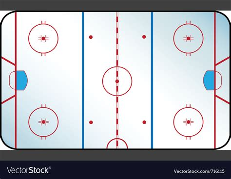 nhl 15 vs nhl 14 intro graphic comparison next gen youtube hockey rink royalty free vector image vectorstock