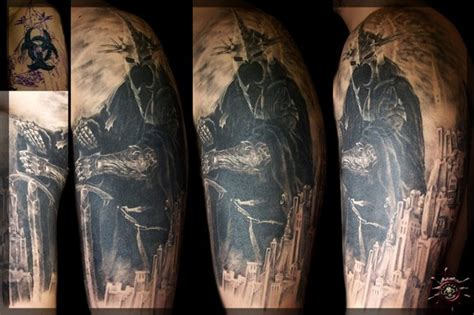 mordor tattoo mordor inspired lord of the rings tattoos mordor the