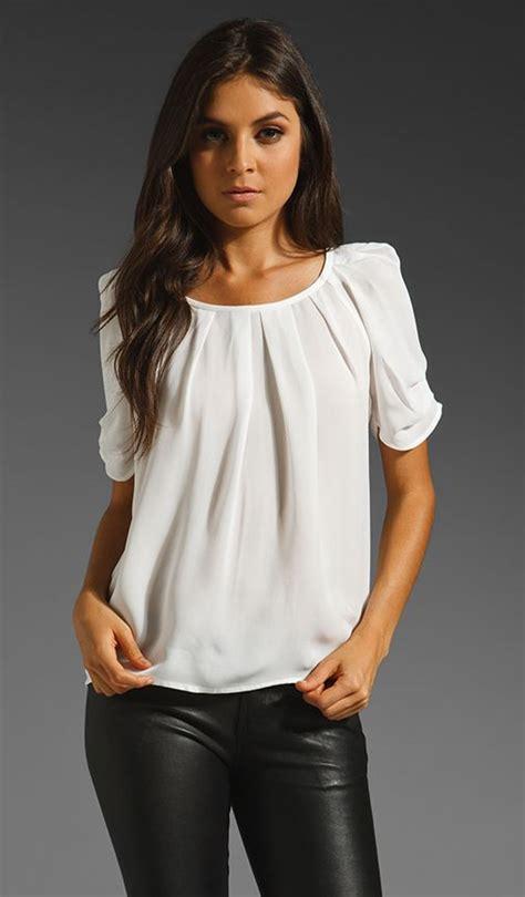 White Blous white blouses blouses and blouses for work on