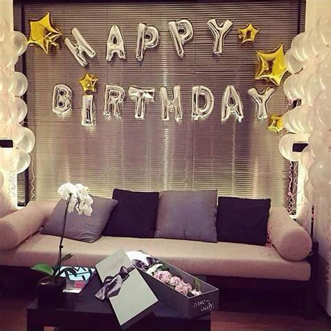 Balloonable Balon Foil Cake Happy Birthday 16 inch silver aluminum foil happy birthday balloon alphabet balloons birthday decor at