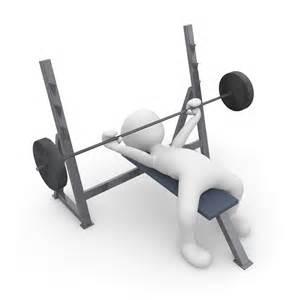 homme entrainement banc de musculation images gratuites