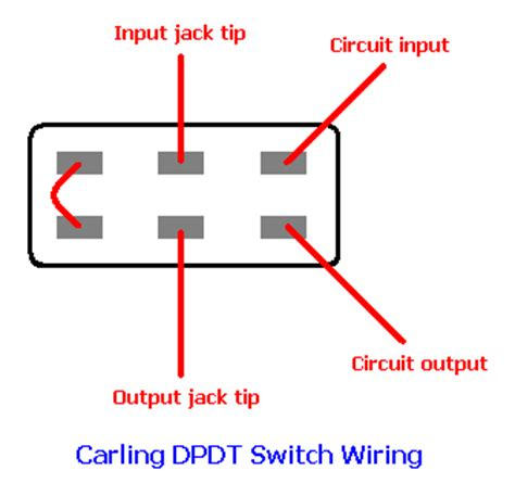 dpdt switch wiring diagram audio get free image about