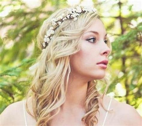 Country Hairstyles | rustic country wedding hairstyles