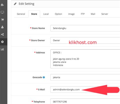 email notifikasi bca solved penyebab opencart tidak mau mengirim email