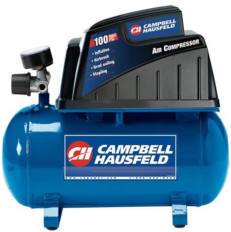 campbell hausfeld  gallon air compressor  accessories