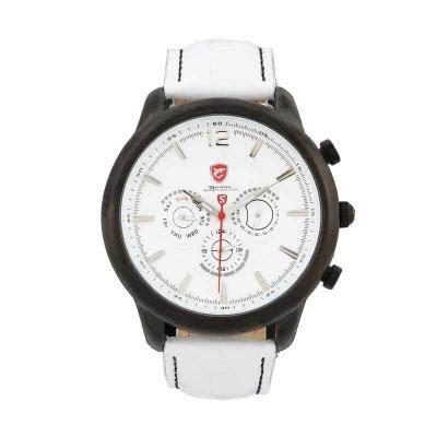 Jam Tangan Pria Alba White Black harga shark jam tangan pria sh113 white pricenia