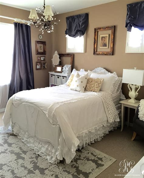grey and gold bedroom pink and gold girl s bedroom makeover randi garrett design
