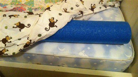How To Keep A Toddler In Bed by Keep From Falling Out Of Bed With Pool Noodles