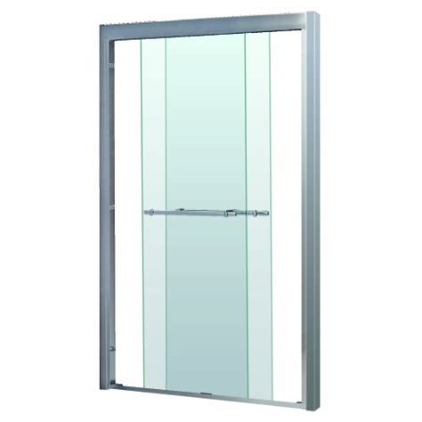 Bypass Glass Shower Doors Dreamline Shdr 1248728 04 Frameless Bypass Sliding Shower Door 44 To 48 By 72 Clear 5 16 Glass