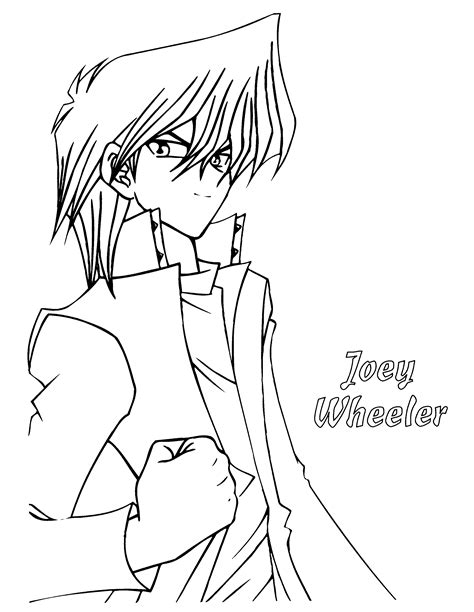 coloring page yu gi oh yu gi oh coloring pages