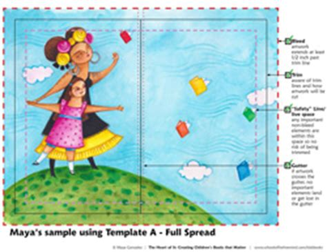 childrens book templates from manuscript to thumbs to gonzalez