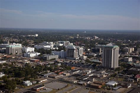 Montgomery Alabama Records Aerial View Of Montgomery Alabama