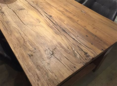 Planche Chene Massif Brut 68 by Les Tables