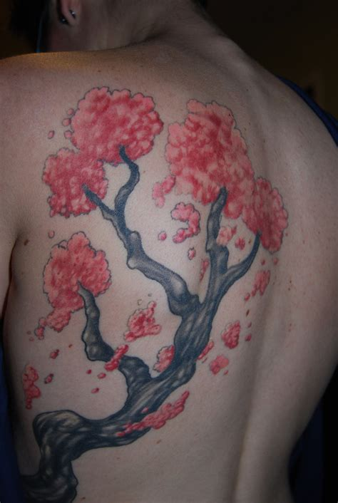 cherry blossom tree tattoos cherry blossom tree designs all about