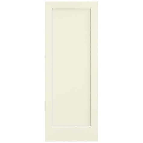 36 X 96 Interior Door Jeld Wen 36 In X 96 In Vanilla Painted Smooth Solid Molded Composite Mdf Interior