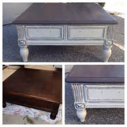 painted coffee table ideas chalk painted sloan coffee table diy