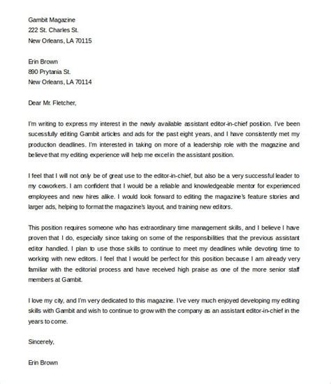 Letter Of Intent Posting sle letter of intent for vacancy cover letter templates