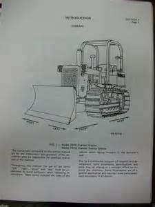 international ih dresser crawler dozer loader td7g td8g