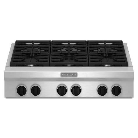 kitchenaid  gas rangetop review rating kgcuvss