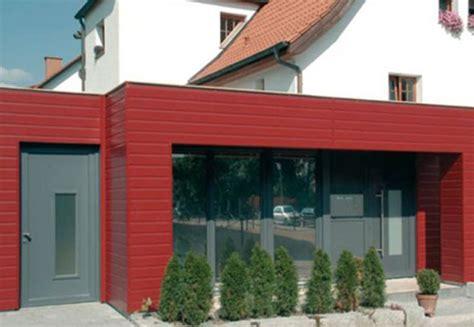 Fassade Mit Lärchenholz Verkleiden by Vorgeh 228 Ngte Garagenverkleidung Als Selbstbausatz