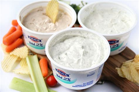 how much yogurt to give easy yogurt dips 3 ways family fresh meals