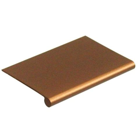 edge pulls for drawers edge pull dp42 bz 3 drawer door pulls aluminum