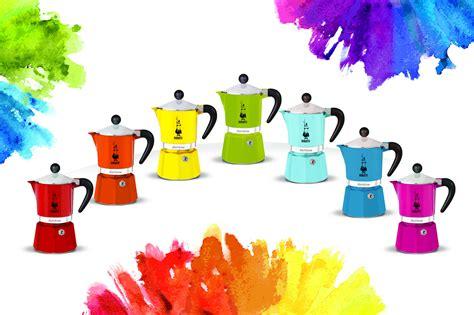 Bialetti Rainbow Light Blue 1 Cup bialetti espresso maker rainbow quot 3 cups quot interismo