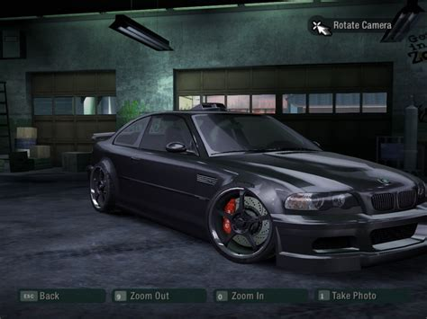 bmw m3 gtr carbon bmw m3 gtr need for speed carbon rides nfscars