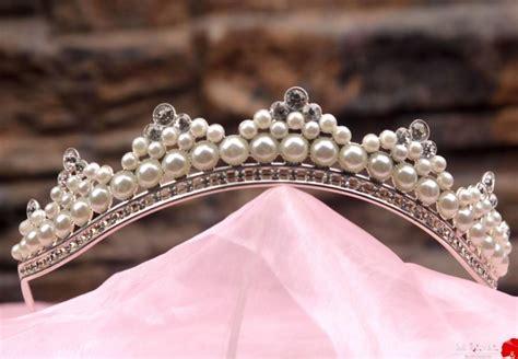 Handmade Tiaras For Wedding - unique handmade princess tiara crown tiaras for wedding