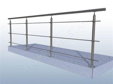 balkongeländer edelstahl bausatz 6 m edelstahl absturzsicherung balkongel 228 nder bausatz va