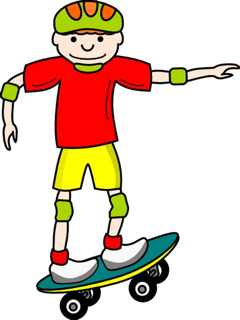 Skateboarding Clipart skateboard clip at clker vector clip